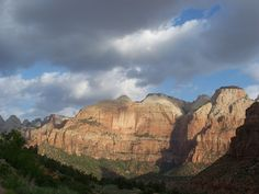 Zion National Park although in Utah, is part of the Grand Circle with Zion in the far West, and Monument Valley in the far east of the circle.