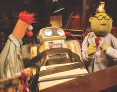 Happy National Doctors Day to Dr. Bunsen Honeydew MD, PhD, DDS, PDA, LMNOP and ZZTOP! The Muppets, March 2017