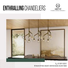 Chandeliers add to the aesthetic beauty of your abode!   Get hold of these lovely pieces from the house of ARTYZ to enhance your living space today!  #chandeliers #ceilinglights #designerchandeliers #designerlights #interiordesigninspiration #livingroomideas #Artyz Modern Chandelier, Chandelier Lighting, Chandeliers, Living Spaces, Living Room, Aesthetic Beauty, Interior Design Inspiration, Oversized Mirror, Ceiling Lights
