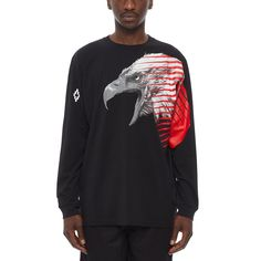 318334e7001 Iamens ls tee from the F W2017-18 Marcelo Burlon County of Milan collection
