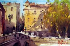 alvaro castagnet painter | Alvaro Castagnet 1954 | Uruguay | Expressive Watercolor painter | Tutt ...
