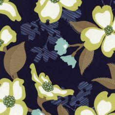 Joel Dewberry - Modern Meadow - Dogwood Bloom in Lake   hawthornethreads.com