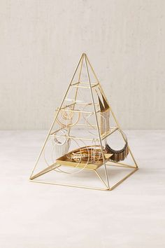 Magical Thinking Pyramid Jewelry Stand Adorbs #UOonCampus #UOcontest