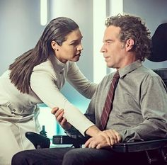 So great to see Kim Engelbrecht and Neil Sandilands killing it on The Flash #ProudlySouthAfrican #Flash #CW #Thinker #Mechanic