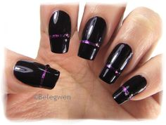 Nail Art by Belegwen: Misa - Fatal Affair