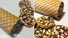 A keksztekercset mindenki szereti, de az ostyás változata még finomabb! Jó választás ünnepekre is, mert tényleg megunhatatlan. Hozzávalók 2 db nagyobb ostyalap (28 × 38 cm). Töltelék: 50 dkg darált háztartási keksz, 50 dkg nagyobbra tördelt háztartási keksz, 4,5 dl tej, 45-50 dkg kristálycukor, 2-3 evőkanál kakaópor, 2 cs. vanillincukor, 20 dkg vaj, vagy margarin, … Graham Crackers, Rum, Sweet Tooth, Cereal, Food And Drink, Cooking Recipes, Nutella, Candy, Chocolate