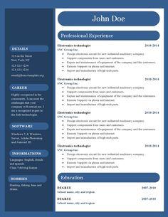 40 best resume templates images resume ideas sample resume best