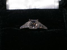 A beautiful diamond ring we made for a special customer