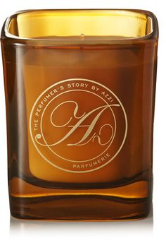 The Perfumer's Story by Azzi Glasser - Twisted Iris Scented Candle, 180g - Saffron - one size