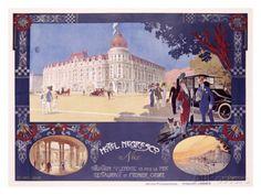 Nice - Hotel Negresco Giclée-Druck
