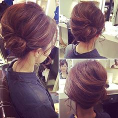 masimaro Hair Dos, Gorgeous Hair, Updos, Hairstyle, Makeup, Wedding, Hair, Hairdos, Up Dos