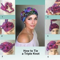 how to tie a turban head wrap tutorials | Turban Diva