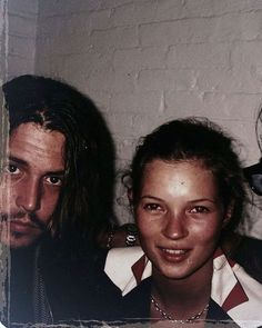 #birthdaymoss#thiskindofeffortless#kateandjohnny#katemoss#johnnydepp#ninetiesmagic