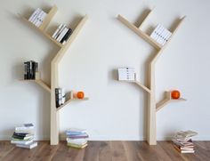 I can't seem to het enough of tree inspired bookcases