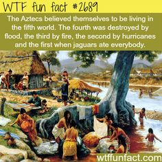 The Aztec civilizations facts - WTF fun facts