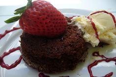 Chocolate Lava Cake. Photo by cookiedog