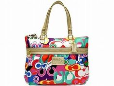 Coach Daisy Pop C Print Tote F20080 (Multicolor) for only $215.00 You save: $83.00 (28%) + Free Shipping