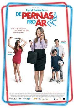 """Assisti """"De Pernas Para o Ar"""". A Ingrid Guimarães está muito bem. O filme empolga em algumas cenas mas, no geral, não é fantástico. Vale o ingresso promocional do Itaucard."""