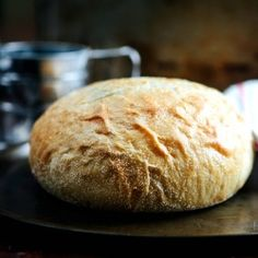 The only rustic bread recipe you'll ever need. Great for dipping in soups.