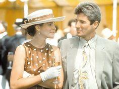 """Richard Gere e Julia Roberts em UMA LINDA MULHER (Pretty Woman).  1-""""As pessoas te botam pra baixo, você começa a acreditar."""" 2- """"As coisas ruins são mais fáceis de acreditar."""" 3- """"- O que acontecia depois que ele subia até a torre e a salvava?   -Ela salvava ele de volta."""""""