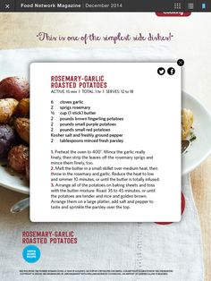 I saw this in the december 2014 issue of food network magazine http i saw this in the december 2014 issue of food network magazine httpbit1pneq81 recipe cards pinterest recipe cards foods and recipes forumfinder Choice Image