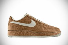 Nike Air Force 1 High Premium iD (Nike, 2014). Limited-edition Cork upper
