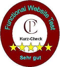 Kurzcheck Functional Website Test - Unser kostenloser Kurzcheck liefert eine Qualitätseinschätzung Ihrer Website aus funktionaler Kundensicht.