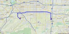 Driving Directions from 12351 Windchime Pl, Mira Loma, California 91752 to 14396 Shady Hollow Ln, Chino Hills, California 91709 | MapQuest