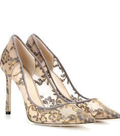 Classic Lace Stilettos High Heels Pointy Toe Embroidery Party Shoes Pumps Chic I in Clothing, Shoes & Accessories, Women's Shoes, Heels Lace Pumps, Shoes Heels Pumps, High Heels Stilettos, Grey Pumps, Women's Shoes, Jimmy Choo Romy, Jimmy Choo Shoes, Botas Sexy, Evening Shoes