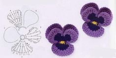 orchid flower crochet patterns | make handmade, crochet, craft