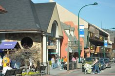 Take a walk and see some of the great #shops and #attractions in downtown #Gatlinburg.