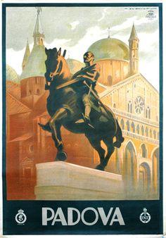 Vintage Poster Padova
