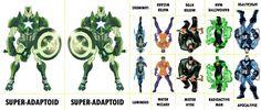 Marvel Villains Character Sheet 206