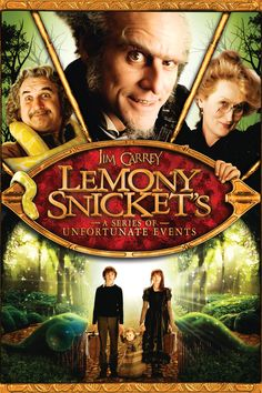 Lemony Snicket's A Series of Unfortunate Events - i love it. this movie got some fun stuff going on and on and on. Also the character in this movie is fantastic. A little bit dark though for children but still it's fantastic and comical. I will not get bored with this movie. 4.5/5.