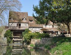 Le moulin d'Andé, Eure, Normandie