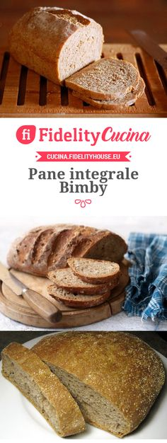 Pane integrale Bimby Pizza Recipes, Cooking Recipes, Veggie Delight, Best Italian Recipes, Keto Bread, Daily Bread, Antipasto, Food Illustrations, Light Recipes