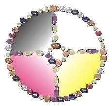 medicine wheel of stones
