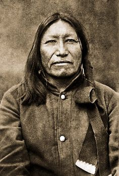 Brulé Chief Spotted Tail - Sinte-Galeska1877