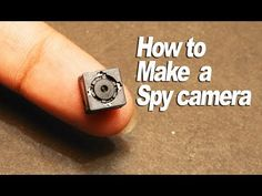 Provide the best solution to How to make homemade spy gadgets without spending a huge amount to buy from markets. Spy Cam in the hat, in glasses Computer Projects, Electronic Circuit Projects, Computer Gadgets, Spy Gadgets, Computer Repair, Diy Tech, Tech Hacks, Electronics Gadgets, Electronics Projects