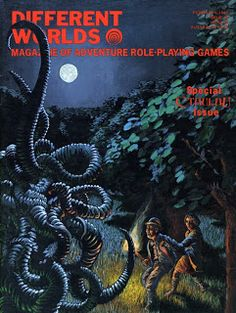 Who remembers this great RPG themed magazine?  I wrote a couple of articles for them back in the day!