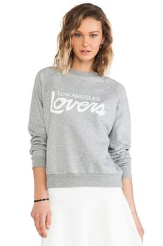 Lovers & Friends Laidback Pullover in Heather Grey #REVOLVEclothing