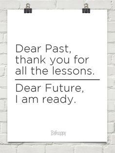 . #past #future