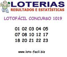 Resultado Lotofácil 1019 - Sorteio de 14 de Fevereiro de 2014 ~ Caixa Loterias - Palpites e Dicas Grátis Lotofácil