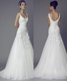This dress still works in 2018. Tony Ward Wedding Dresses 2015 Collection. To see more: http://www.modwedding.com/2014/07/01/tony-ward-wedding-dresses-2015-collection/ #wedding #weddings #wedding_dress #weddingdress