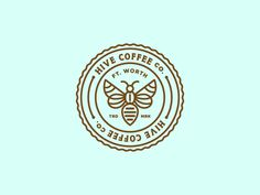 'nother Hive Logo Concept by Claire Morales