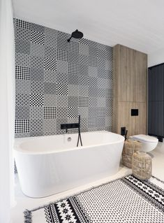 This Minimalist Bungalow Will Change Color Over Time #minimalist #bungalow #czechia #czechrepublic #bathroom