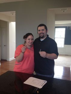 James and Megan were fantastic #buyer clients!  They purchase their 1st home with us in #LocustGrove #Virginia. #firsttimehomebuyer. #RealEstate