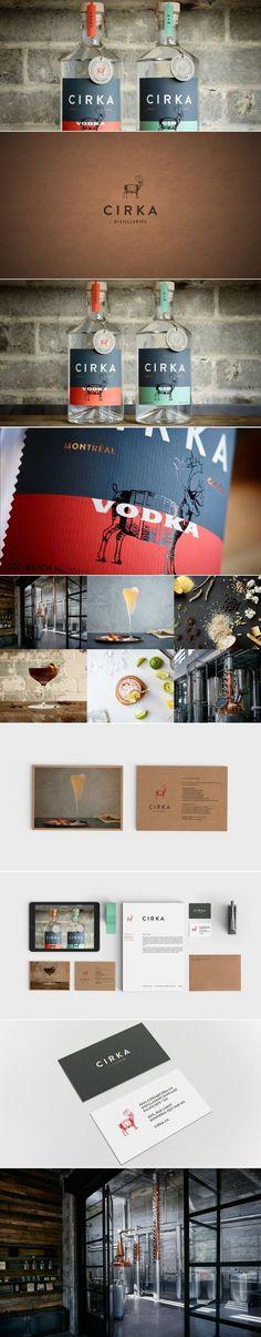 CIRKA Distilleries — The Dieline | Packaging & Branding Design & Innovation News