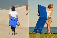 Chilly, una reposera práctica y fácil de transportar - LA NACION Picnic Table Bench, Truck Bed Storage, Cat Bag, Deck Chairs, Beach Accessories, Outdoor Lounge, Carry On, Dresses For Work, Room Decor