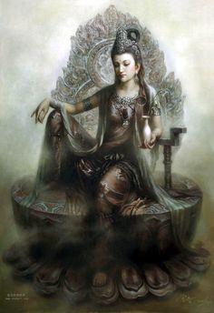 Divine Goddess Kwan Yin
